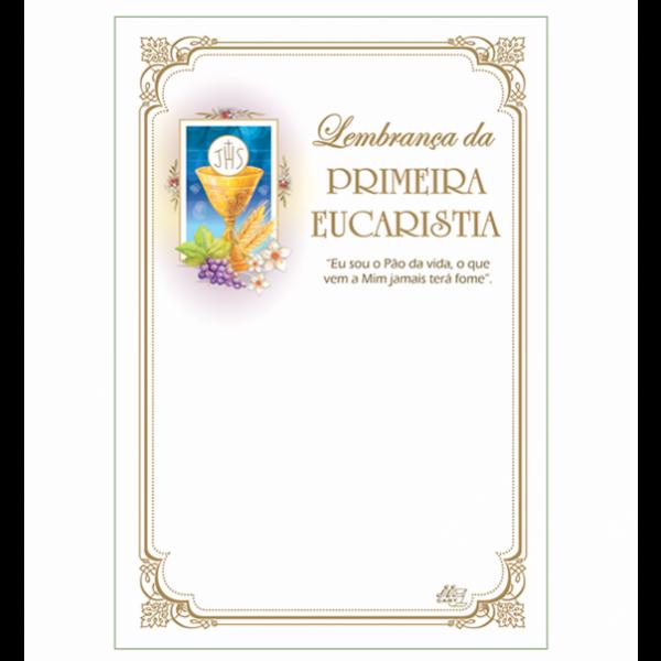 LG-90 Lembrança Primeira Eucaristia Sem Texto